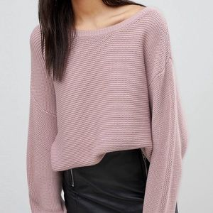 Ivyrevel Dusty Pink Knit Sweater
